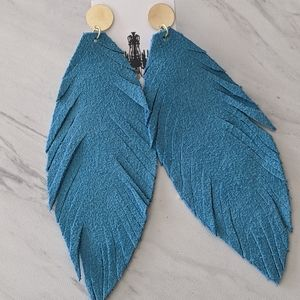Suede Feathers